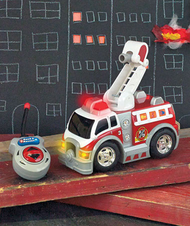 Fire Ladder Truck Rush and Rescue Remote Control Vehicle