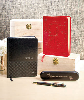 Inspirational Journal or Pen Gift Sets
