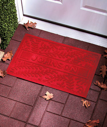Personalized Water Guard Doormats