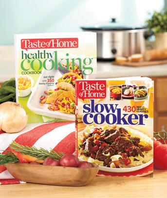 Taste of Home� Healthy or Slow Cooker Cookbook