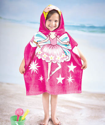 Fairy Kids' Hooded Beach Towel