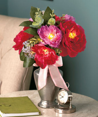 Lighted Floral Bouquets