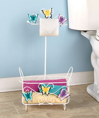 Themed Bathroom Stands