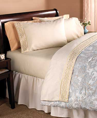 Gala Embroidered Sheet Sets