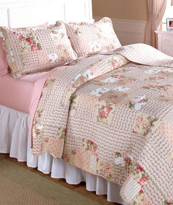 3-Pc. King Rosemary Quilt Set