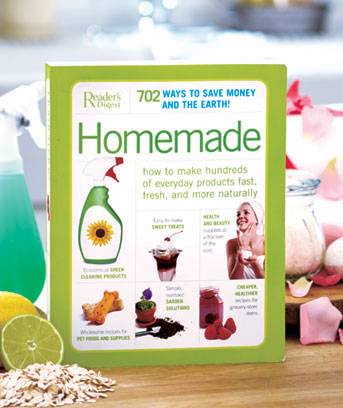 702 Homemade Products Book