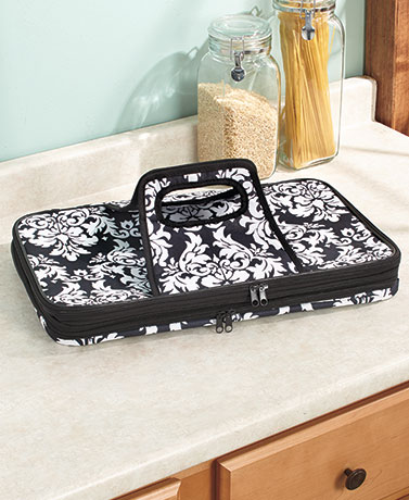 Damask Expandable HotCold Food Carrier