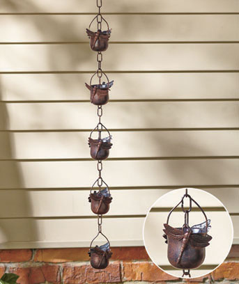Dragonfly Decorative Iron Rain Chains