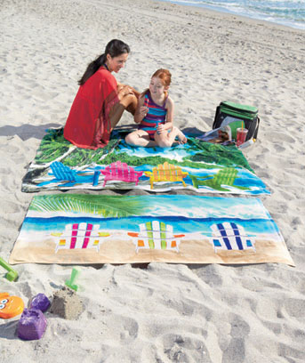 Oversized or Standard Beach Towels
