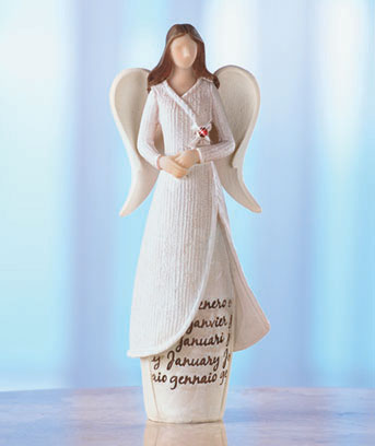 Monthly Angel Figurines
