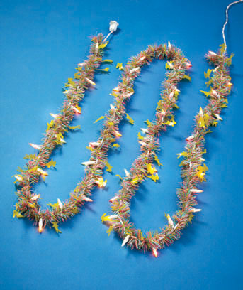 Easter 9-Ft. Lighted Holiday Garland