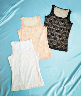 Women's All-Over Lace Shaping Camisoles