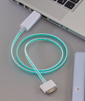 iPhone�iPad� 30-Pin LED Lighted Charging Cables