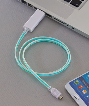 Smartphone Micro USB LED Lighted Charging Cables