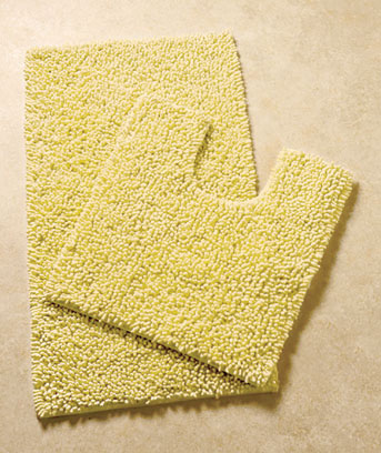 2-Pc. Textured Cotton Bath Rug Sets