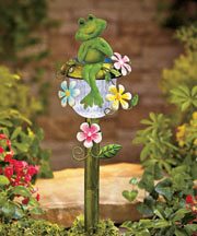 Frog Decorative Solar Stakes
