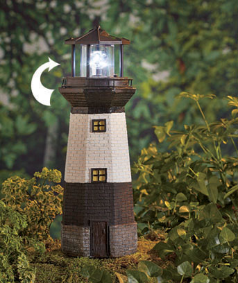 Solar Motion Lighthouse or Windmill