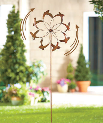 Yard Art Windspinner Stakes