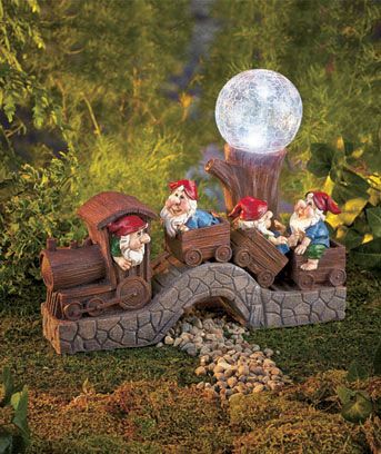 Solar Train with Gnomes