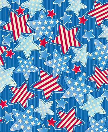 Americana Stars 3-Pc. Picnic Table Covers
