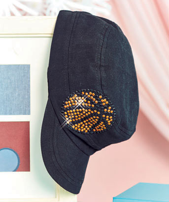 Sports Bling Fashion Caps