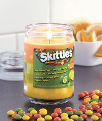 Skittles� Triple Scented Candles