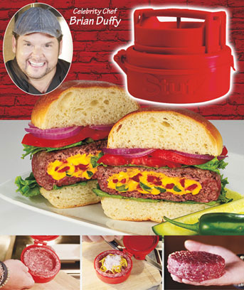 Stufz™ Stuffed Burger Maker