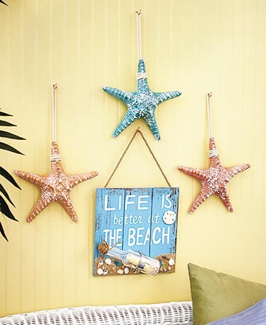 Beach Wall Decor beach themed wall decor | the lakeside collection