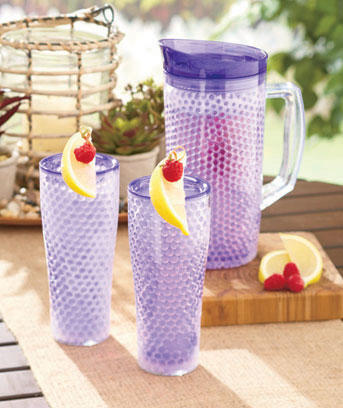Freezable Pitchers or Tumbler Sets