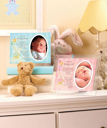 Baby Memory Glass Plaques