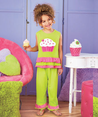2-Pc. Girls' Ruffle Playwear Sets