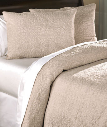 Taupe 3-Pc. St. James Quilt Set