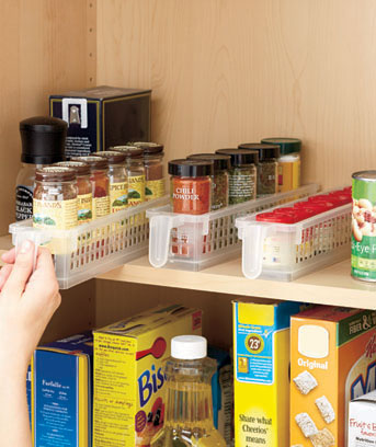 Perfect Pantry™ Basket Organizer Sets