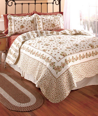 3-Pc. Quilt and Sham Sets