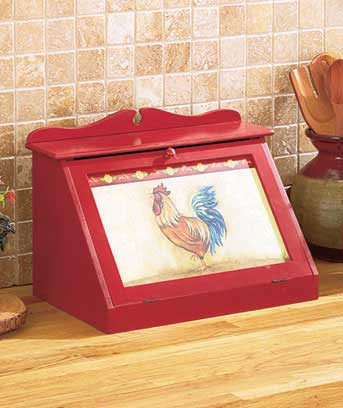 Decorative Bread Boxes