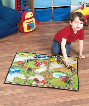 2-Sided Playmat with Toy