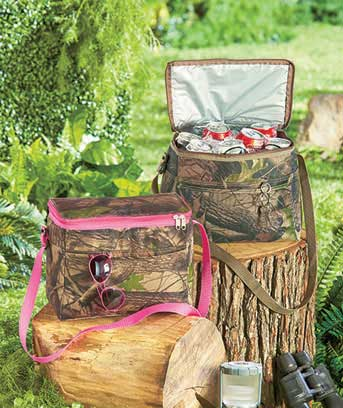 12-Can Camo Coolers
