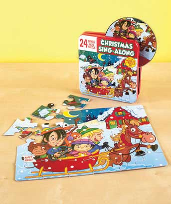 Kids' 24-Song Disc and Puzzle Sets