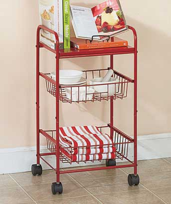 3-Tier Rolling Storage Carts