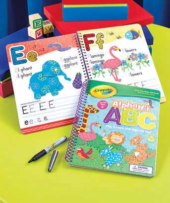 Alphabet Crayola(TM) Write & Wipe Book with Marker