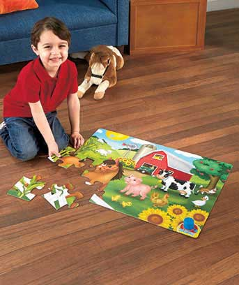 Classic Song Sing-Along Floor Puzzles