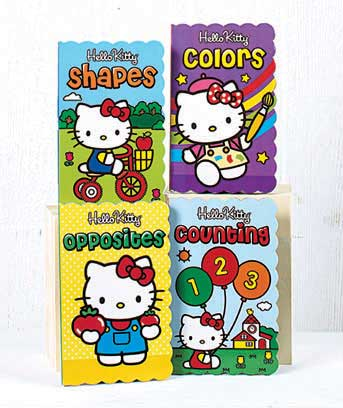 Sets of 4 Licensed Shaped Board Books