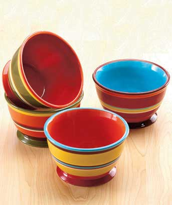 Striped Dinnerware Collection