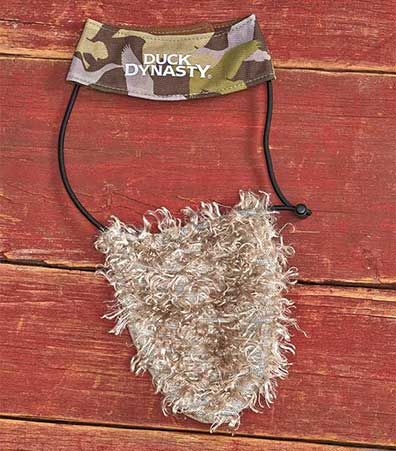 Duck Dynasty� Beard & Hat Dog Costumes