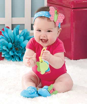 Baby Headband and Bootie Sets