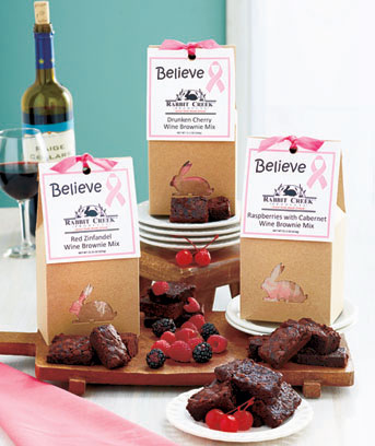 Wine Brownie Mixes