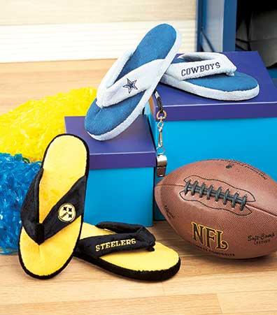 Women's NFL Thong Slippers