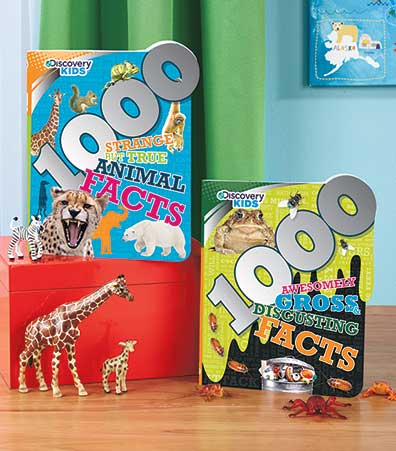 Discovery Kids(TM) 1000 Fact Books