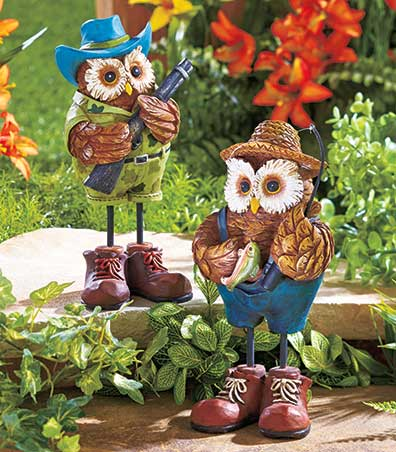 Outdoorsman Owls