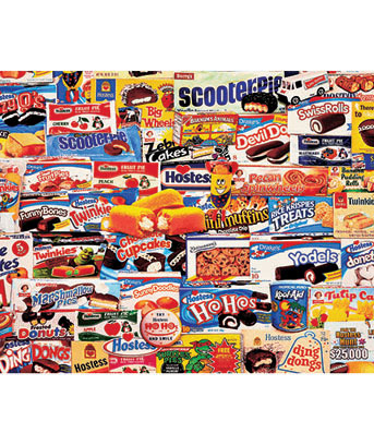 Tasty Treats 1,000-Pc. Nostalgic Puzzle